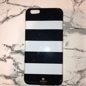 iPhone 6Plus black and white case 😍